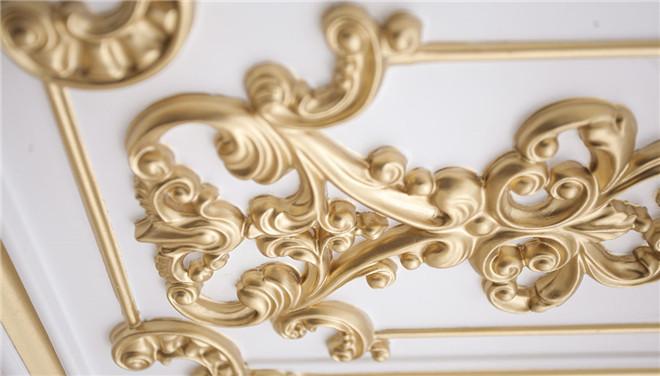 法式描金护墙板营造众人所艳羡的法国奢华
