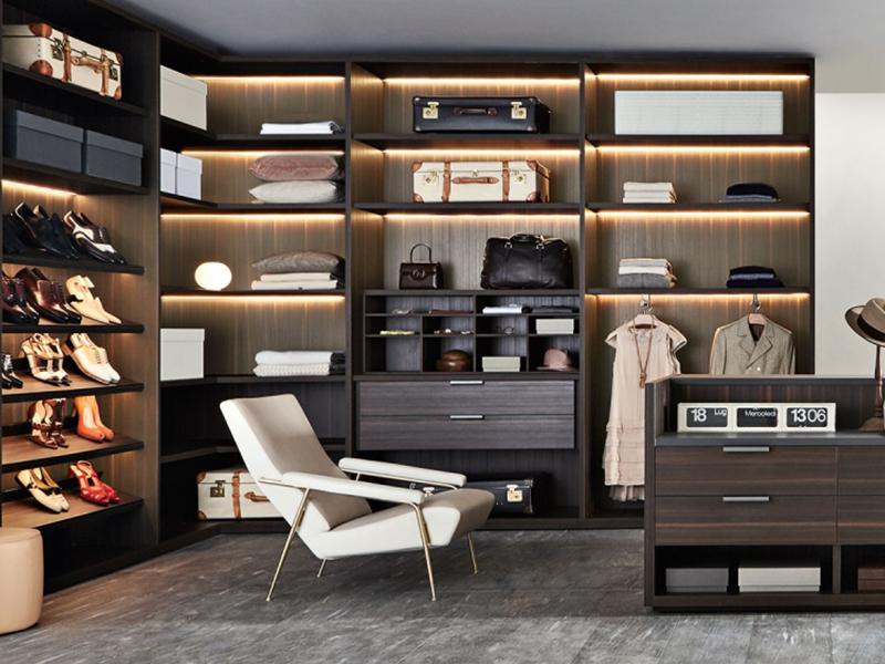 现代美式风格整木定制|高端定制衣帽间标准