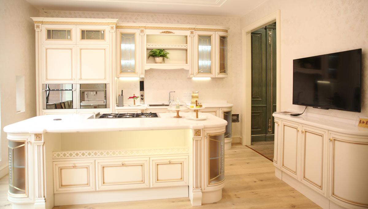 铭凤凰:七棵树展厅整体厨房