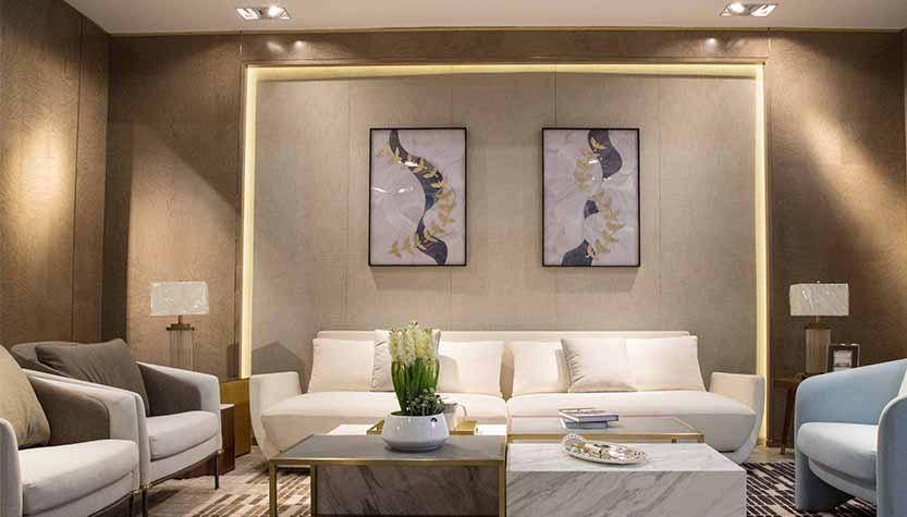 现代风格-客厅护墙板-铭凤凰