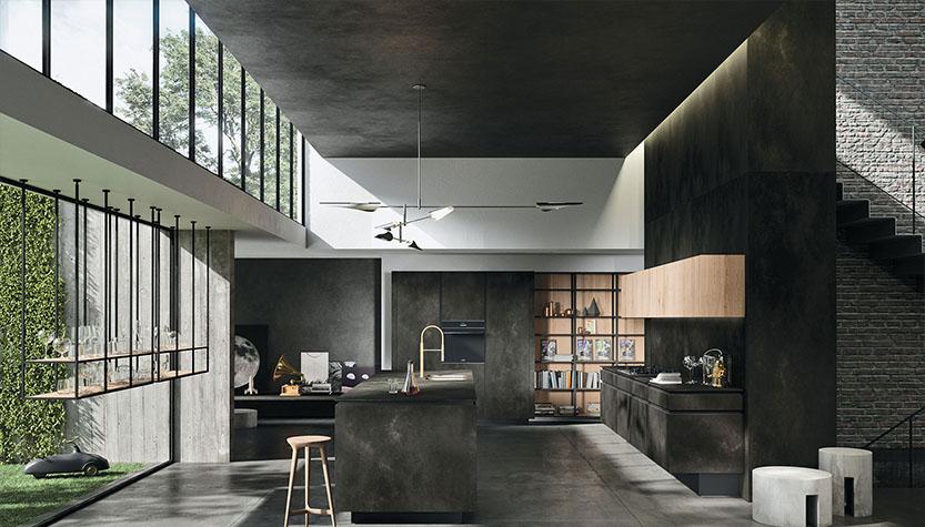 现代简约整体厨房-VII