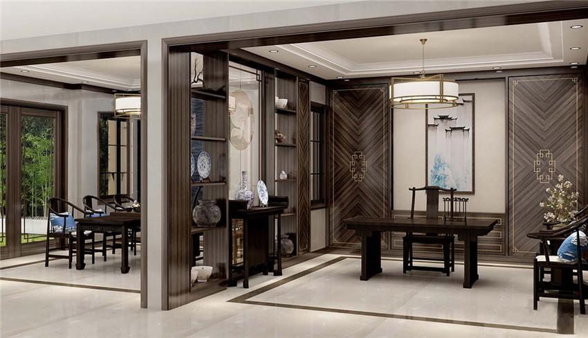 新中式风格护墙板案例(2)