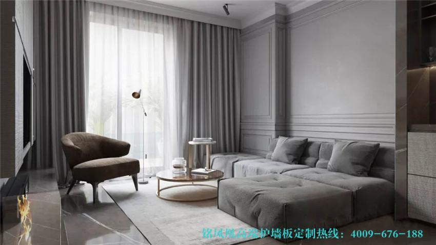 现代风格护墙板案例(4)