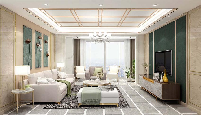 现代轻奢风格护墙板案例(1)